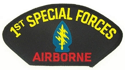 1st Special Forces Airborne Patches